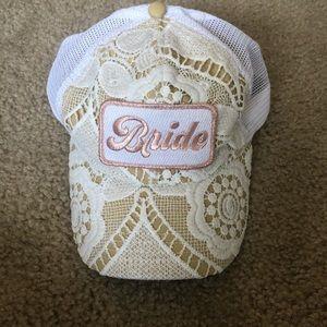 Judith March Bride Trucker Hat